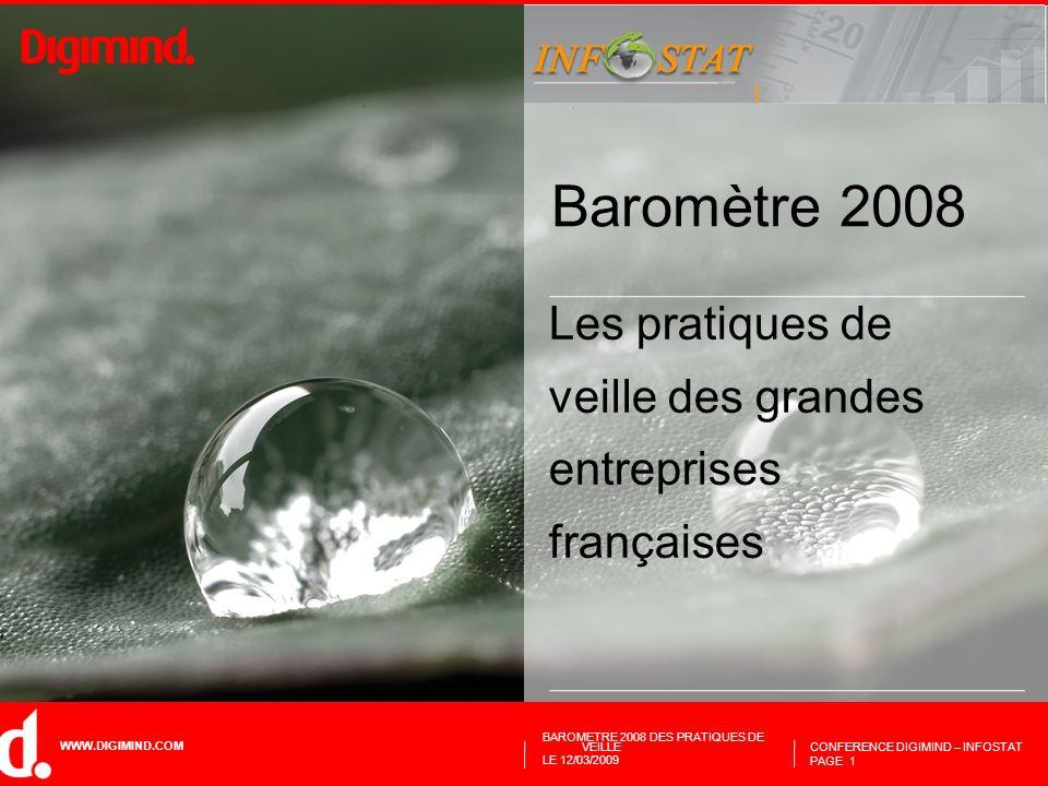 Les pratiques de veille des grandes entreprises françaises