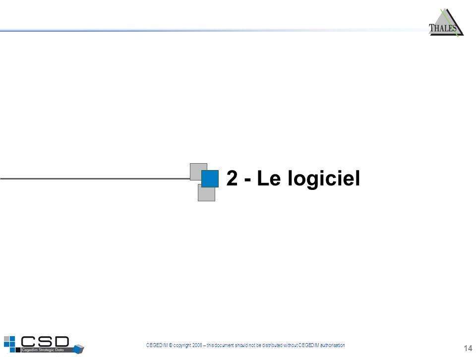 1 2 - Le logiciel 14