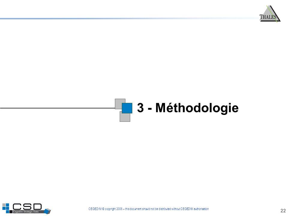 1 3 - Méthodologie 22