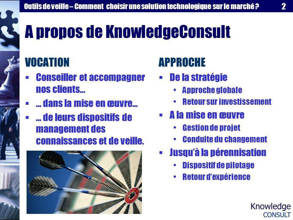 A propos de KnowledgeConsult