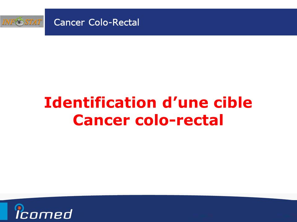 Identification d'une cible Cancer colo-rectal