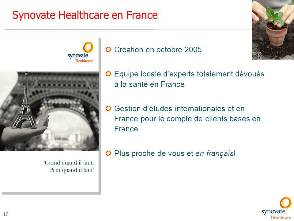 Synovate Healthcare en France