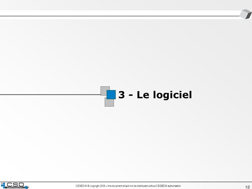 1 3 - Le logiciel