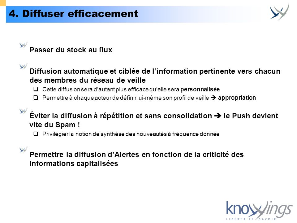 4. Diffuser efficacement