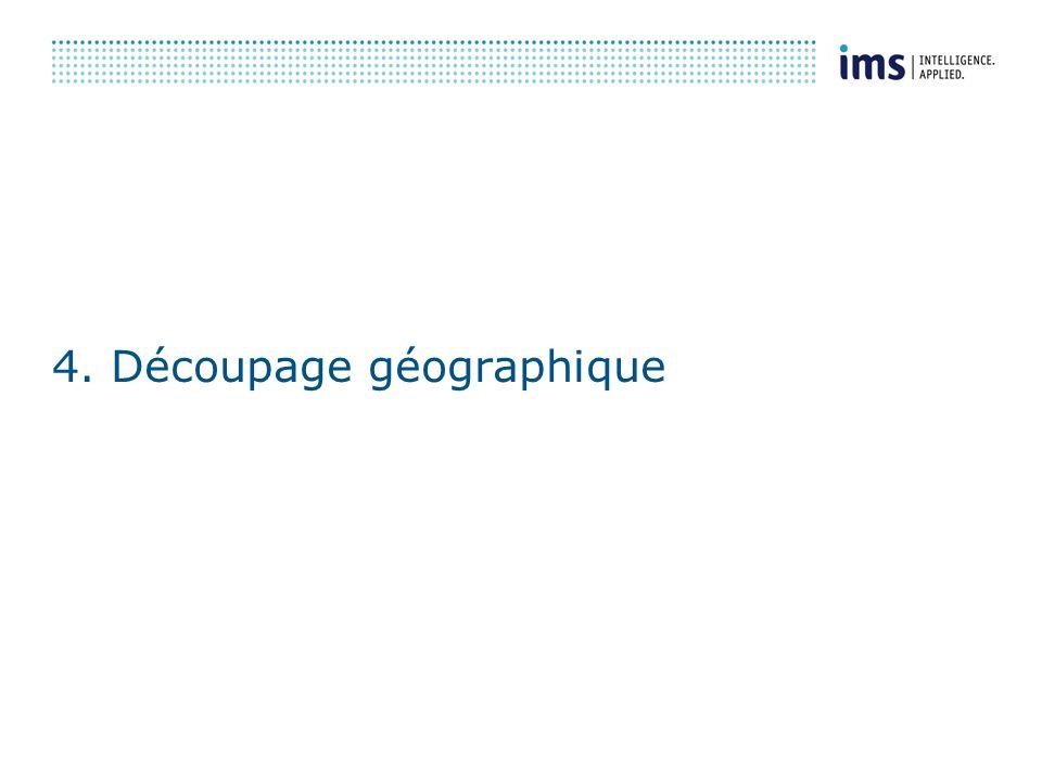 4. Découpage géographique