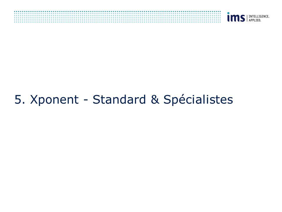 5. Xponent - Standard & Spécialistes