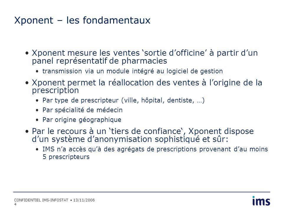 Xponent – les fondamentaux