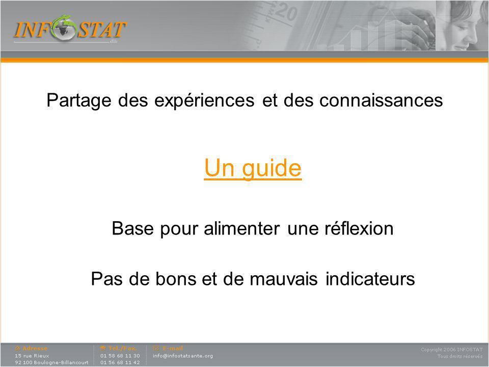 Un guide Partage des expériences et des connaissances