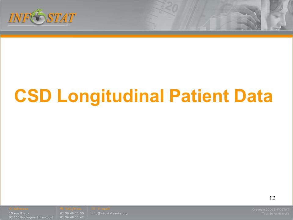 CSD Longitudinal Patient Data
