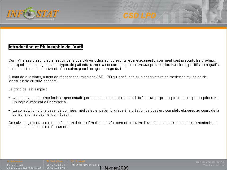 CSD LPD 11 février 2009