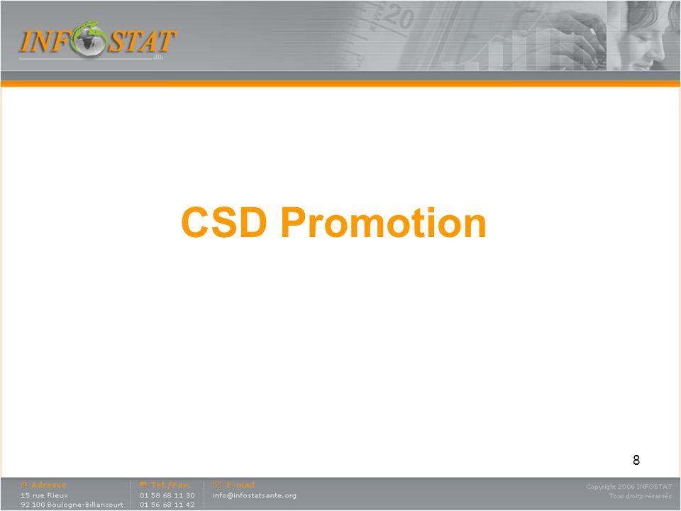 CSD Promotion
