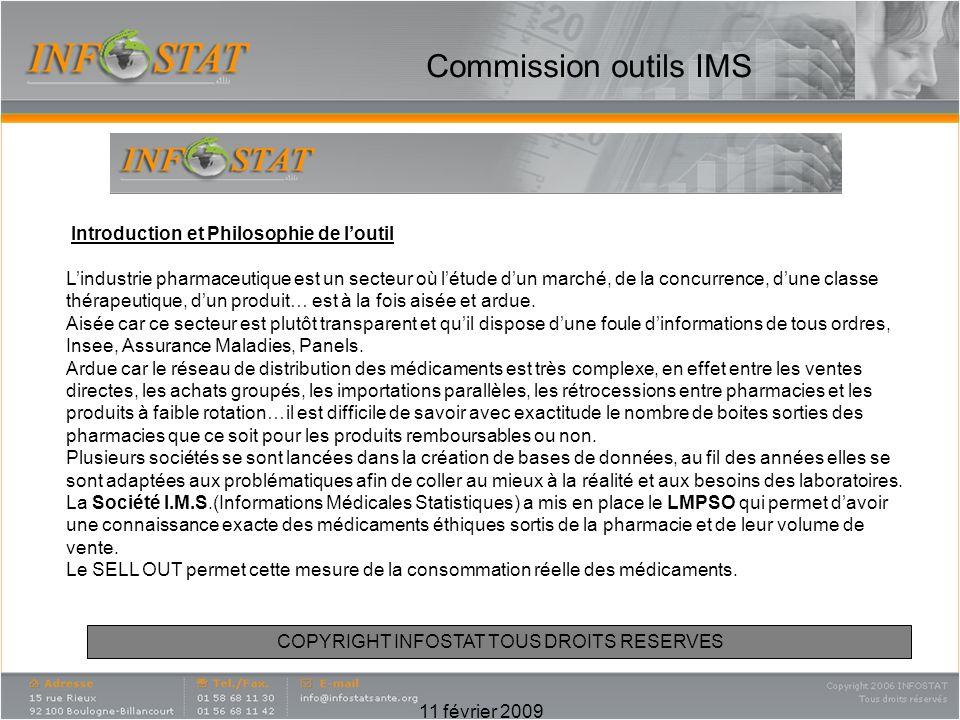 Commission outils IMS Introduction et Philosophie de l'outil