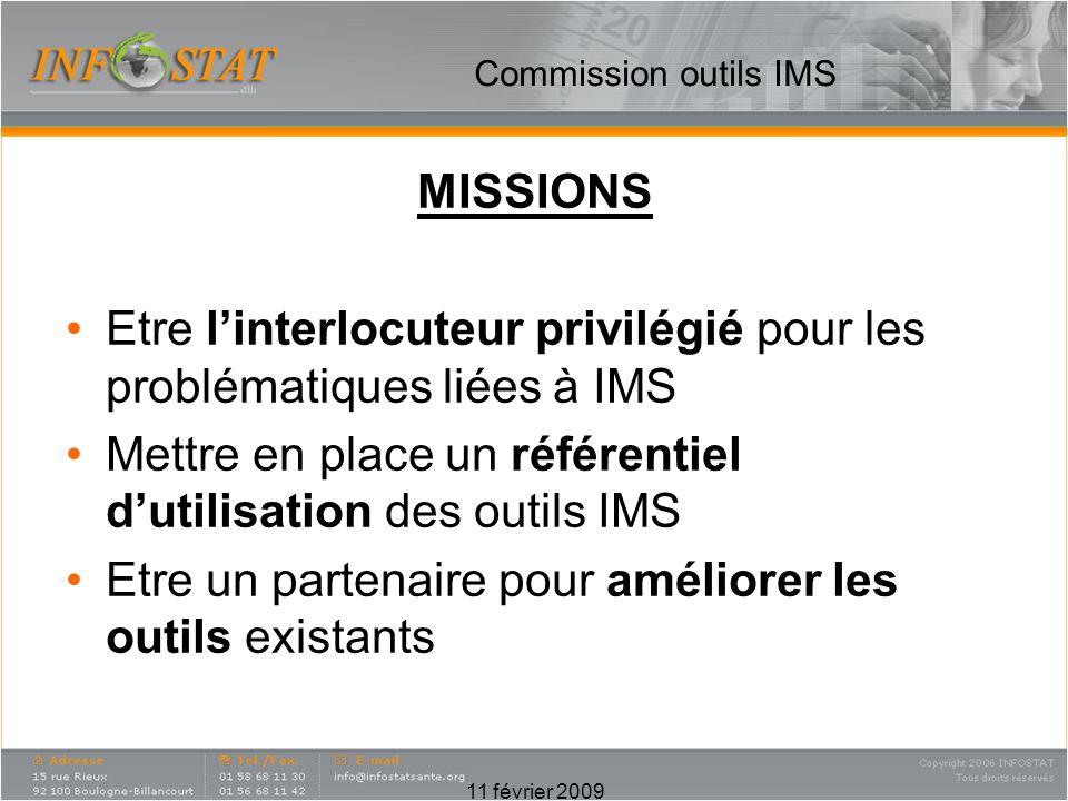 Etre l'interlocuteur privilégié pour les problématiques liées à IMS