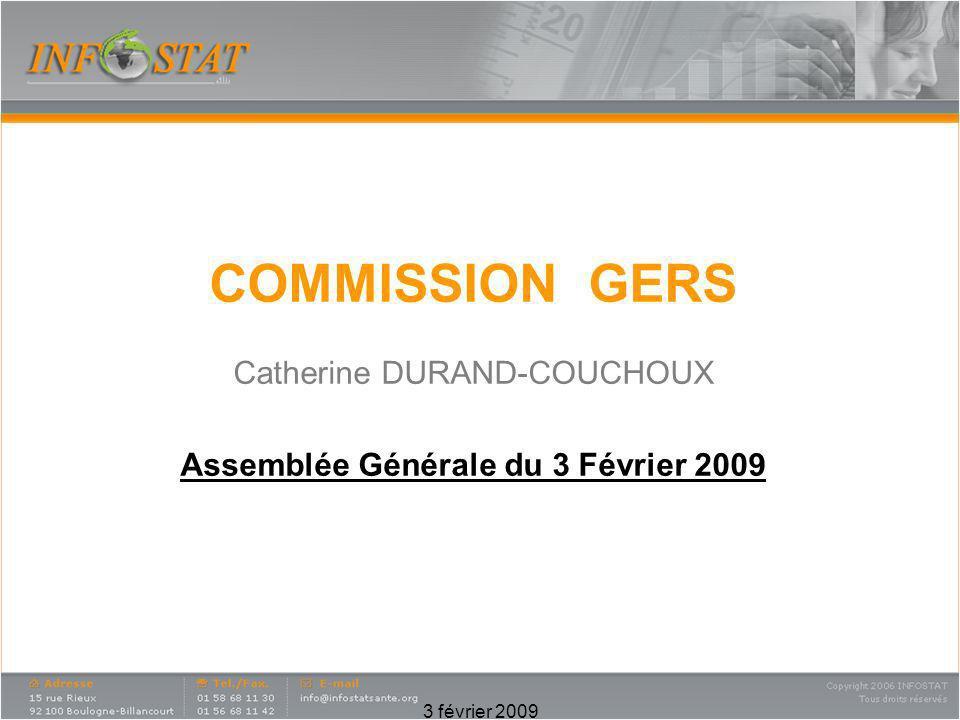 Assemblée Générale du 3 Février 2009