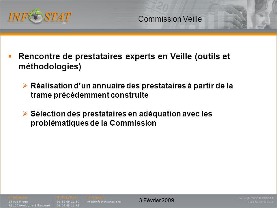Rencontre de prestataires experts en Veille (outils et méthodologies)