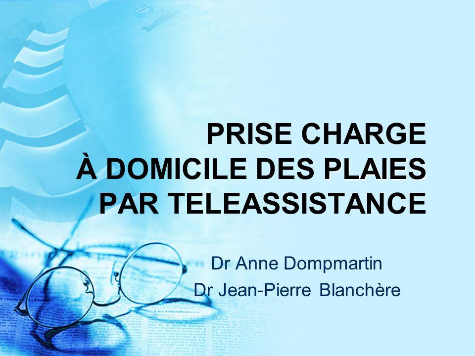 PRISE CHARGE À DOMICILE DES PLAIES PAR TELEASSISTANCE