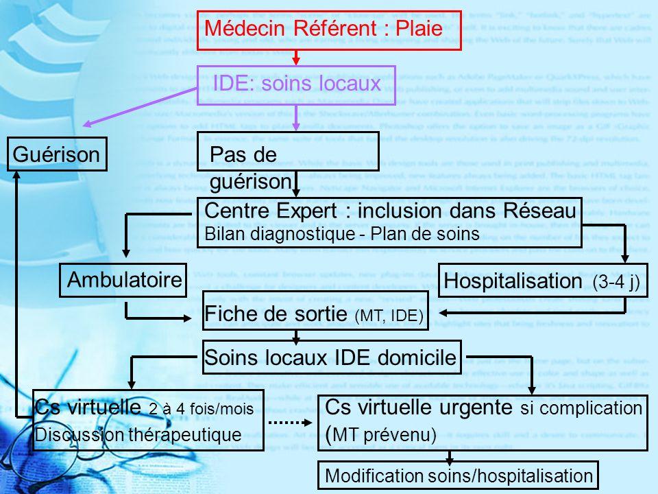 Médecin Référent : Plaie
