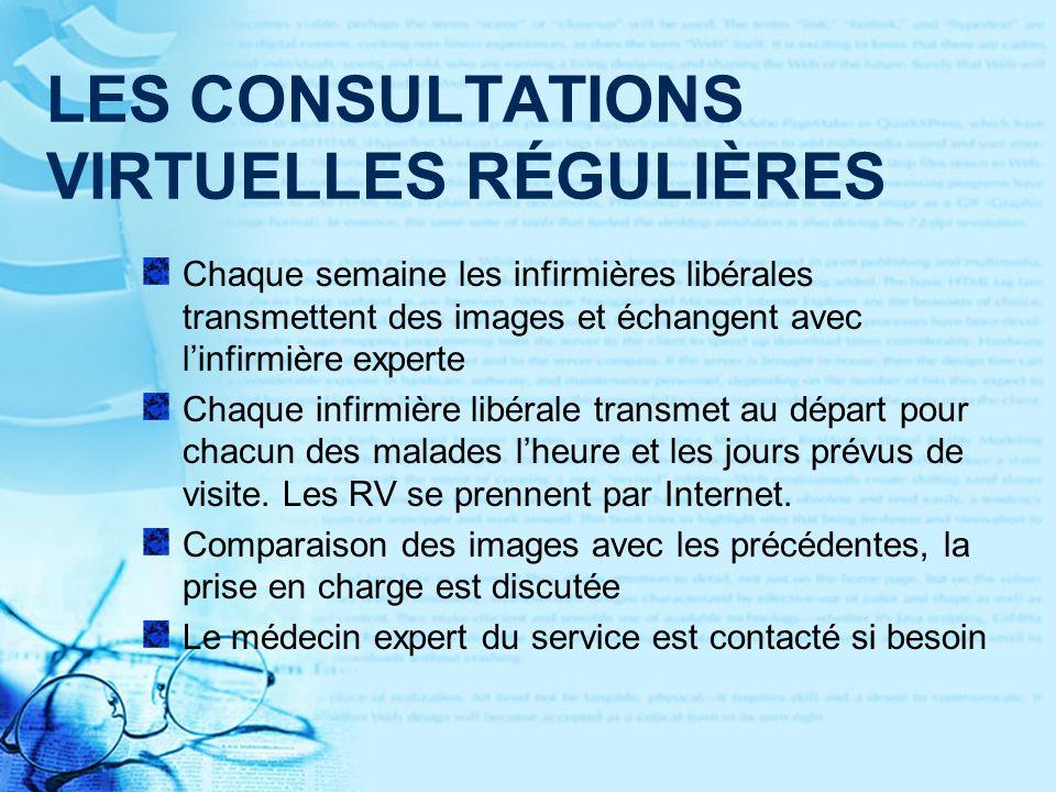 LES CONSULTATIONS VIRTUELLES RÉGULIÈRES