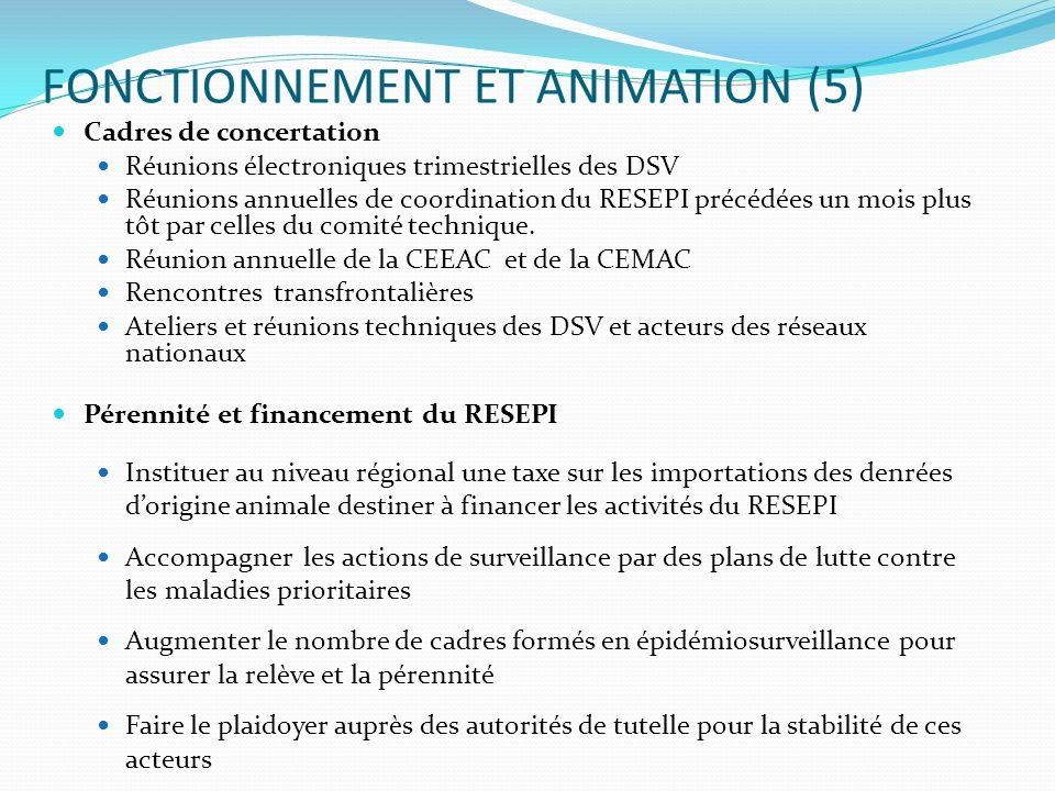 FONCTIONNEMENT ET ANIMATION (5)
