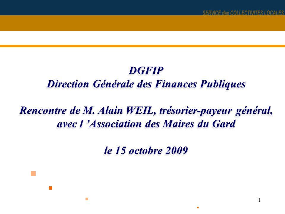 DGFIP Direction Générale des Finances Publiques Rencontre de M