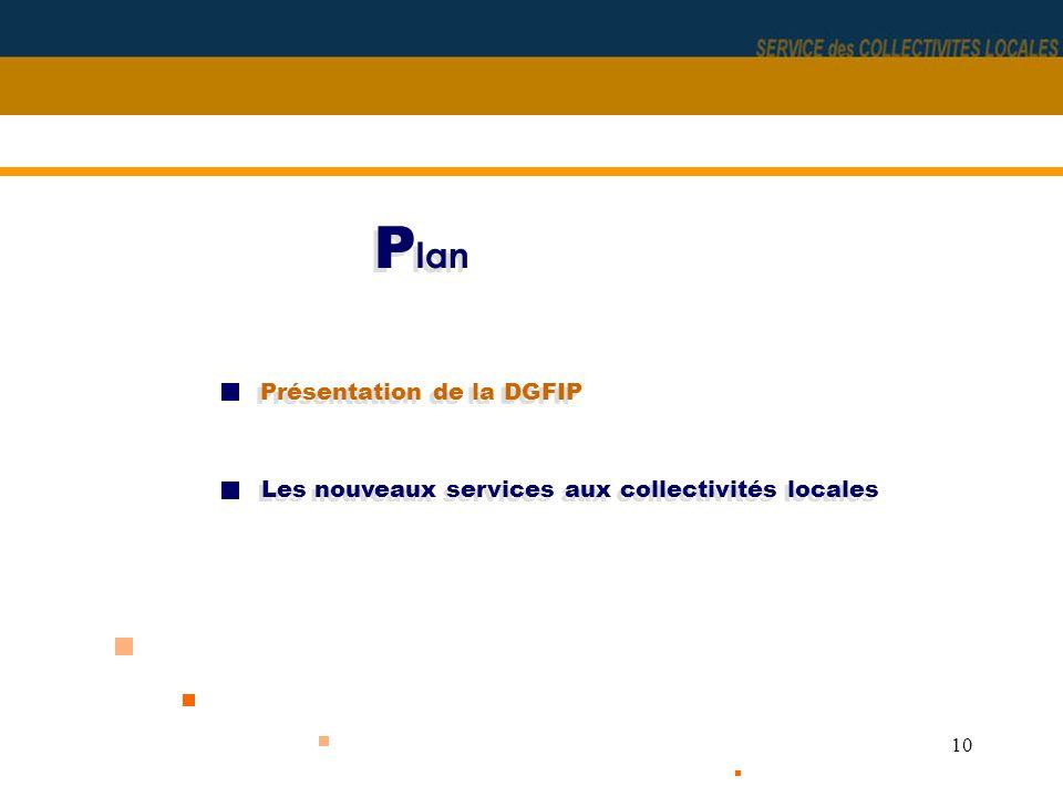 Plan Présentation de la DGFIP