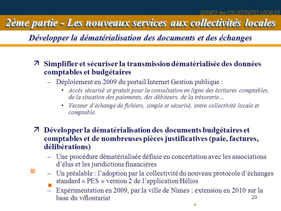Développer la dématérialisation des documents et des échanges