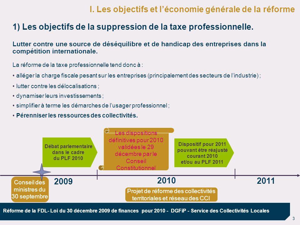Débat parlementaire dans le cadre du PLF 2010