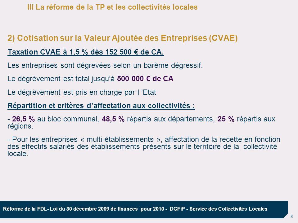 2) Cotisation sur la Valeur Ajoutée des Entreprises (CVAE)