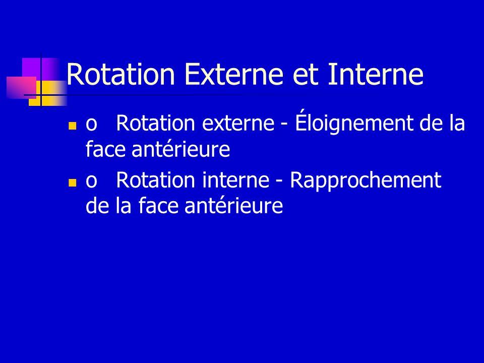 Rotation Externe et Interne
