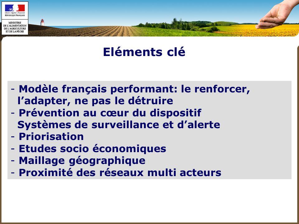 Eléments clé Modèle français performant: le renforcer,