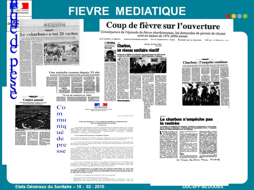 Communiqué de presse FIEVRE MEDIATIQUE