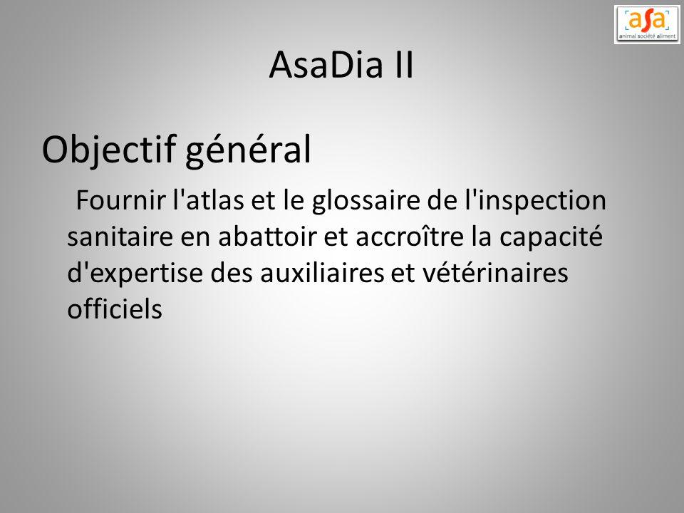 AsaDia II Objectif général