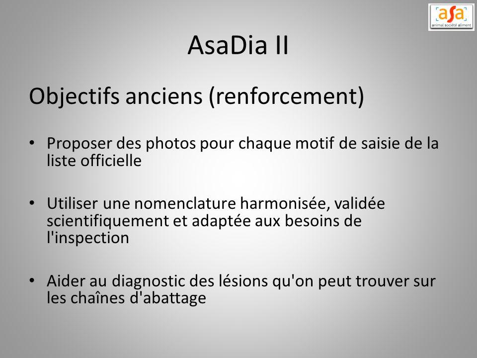 AsaDia II Objectifs anciens (renforcement)