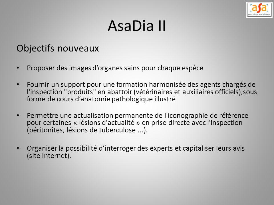 AsaDia II Objectifs nouveaux