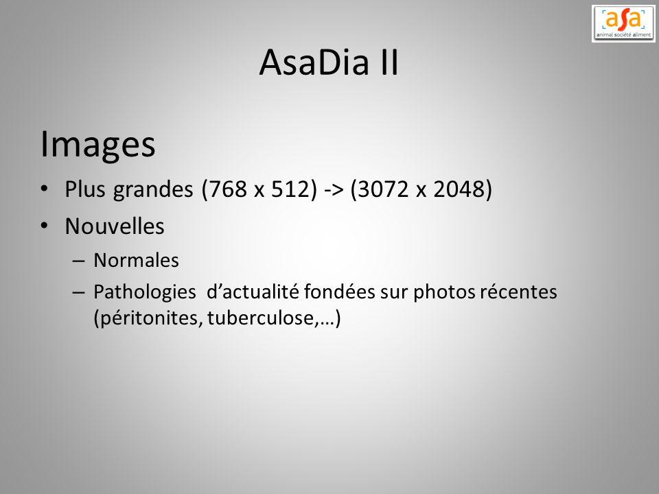 AsaDia II Images Plus grandes (768 x 512) -> (3072 x 2048)