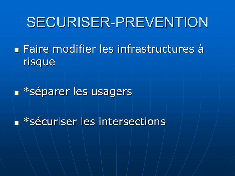 SECURISER-PREVENTION