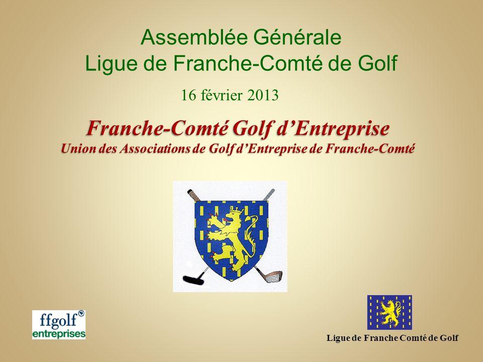 Ligue de Franche Comté de Golf