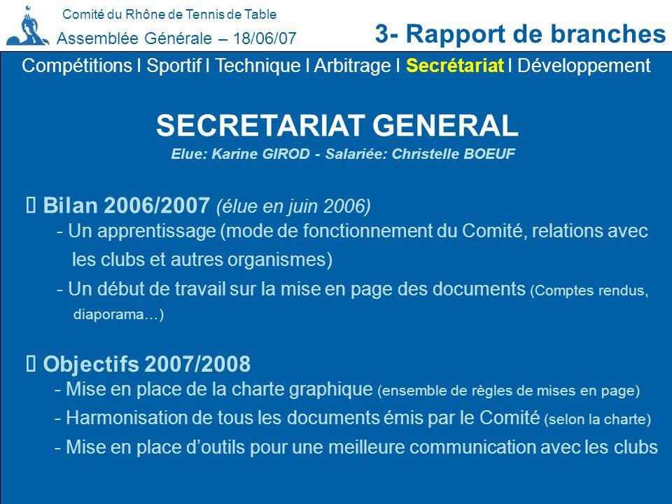 Elue: Karine GIROD - Salariée: Christelle BOEUF