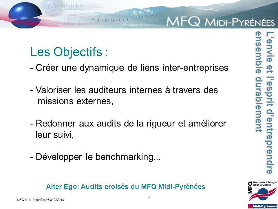 Les Objectifs : - Créer une dynamique de liens inter-entreprises