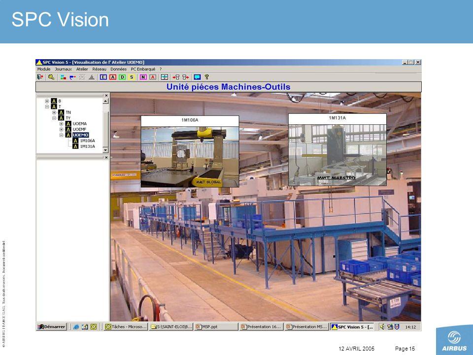 SPC Vision 12 AVRIL 2005