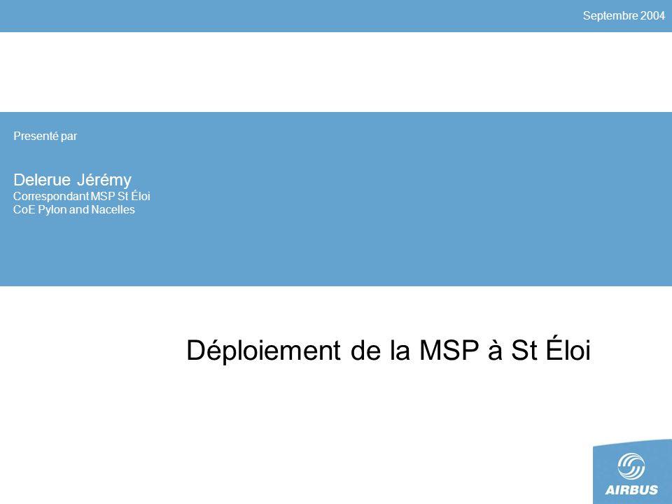 Déploiement de la MSP à St Éloi