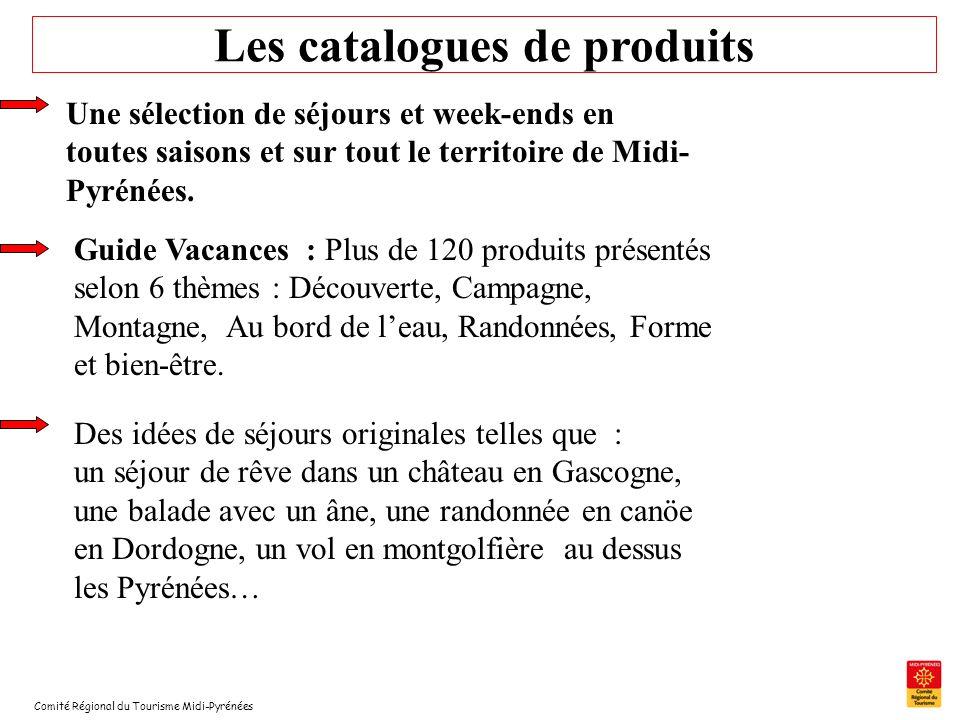 Les catalogues de produits