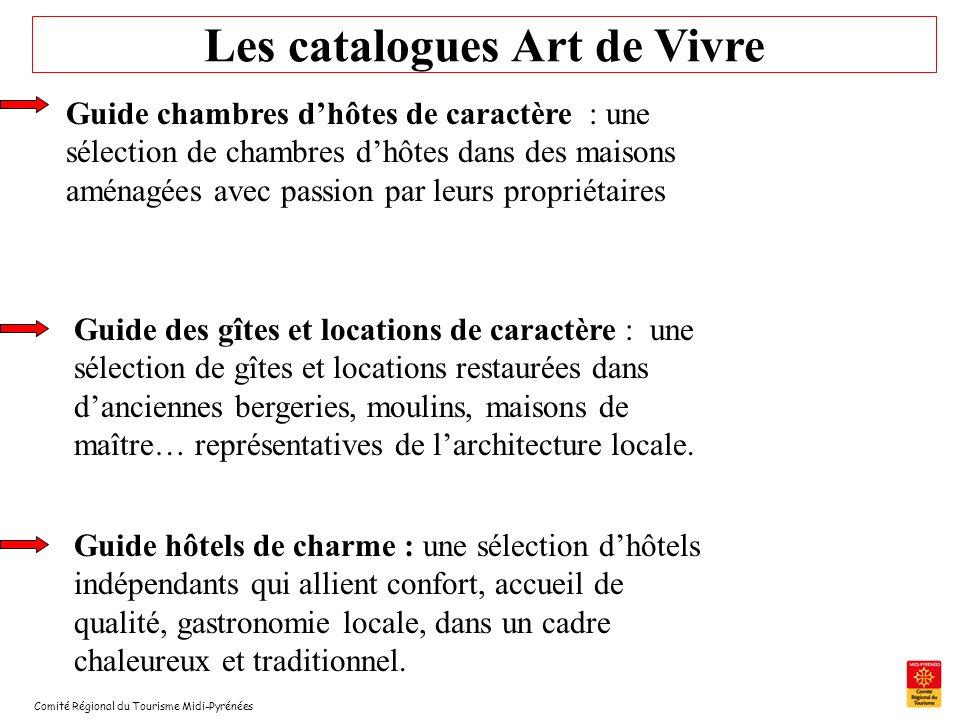 Les catalogues Art de Vivre