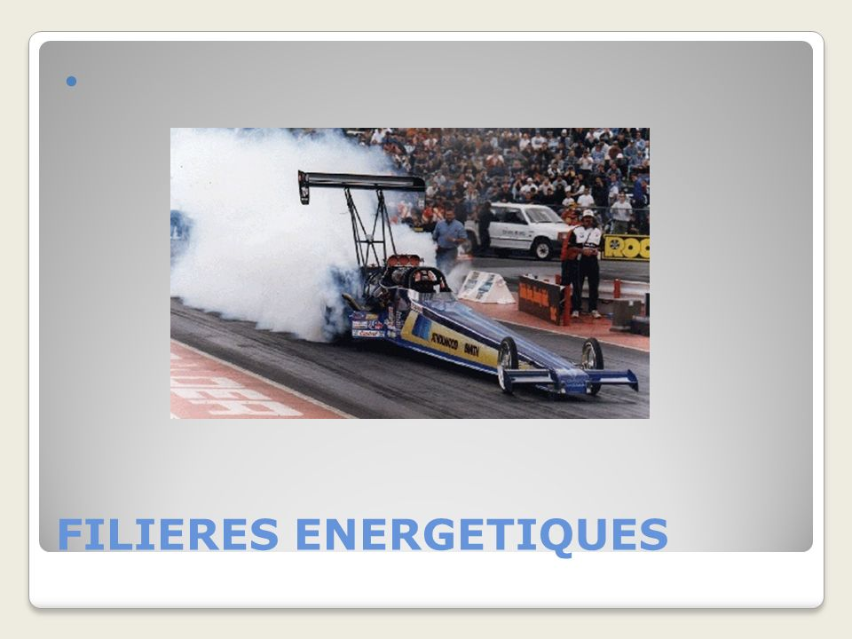FILIERES ENERGETIQUES