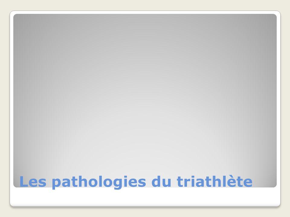 Les pathologies du triathlète