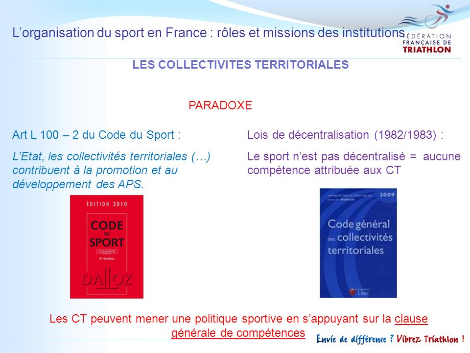 LES COLLECTIVITES TERRITORIALES