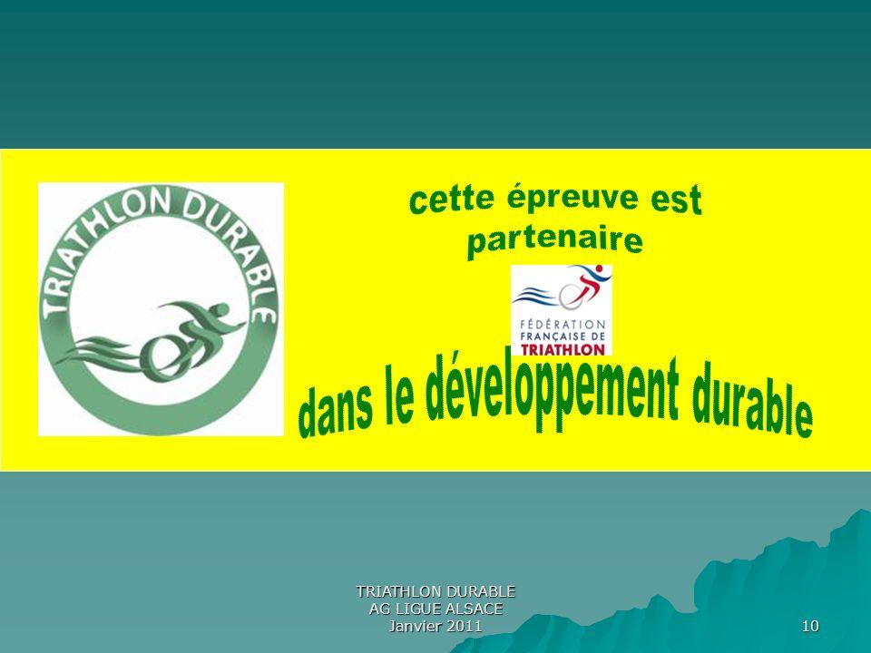 dans le développement durable