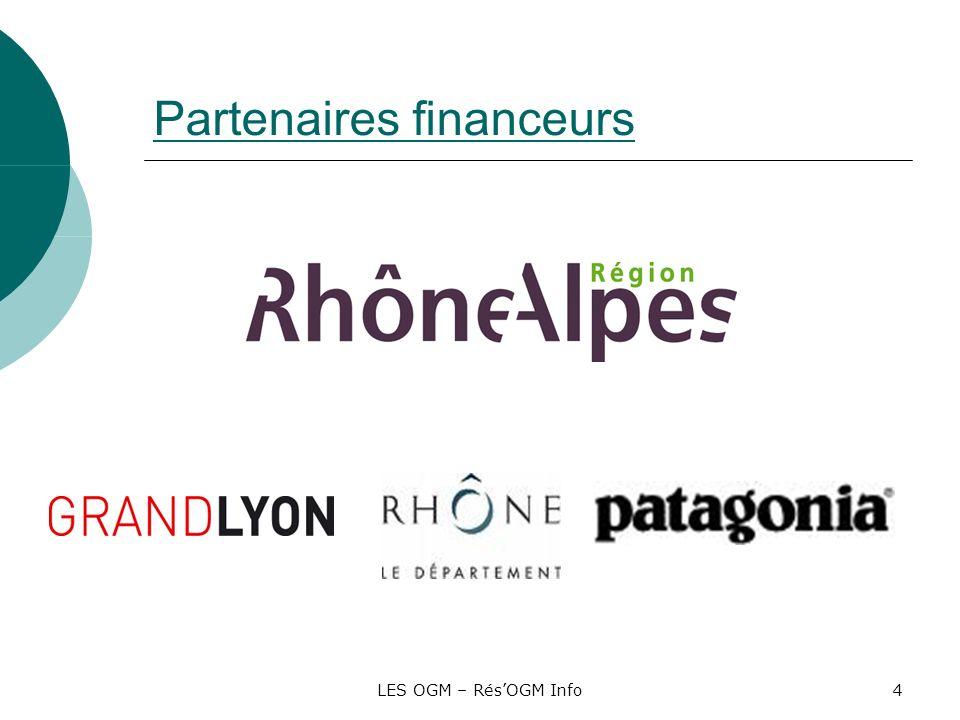 Partenaires financeurs