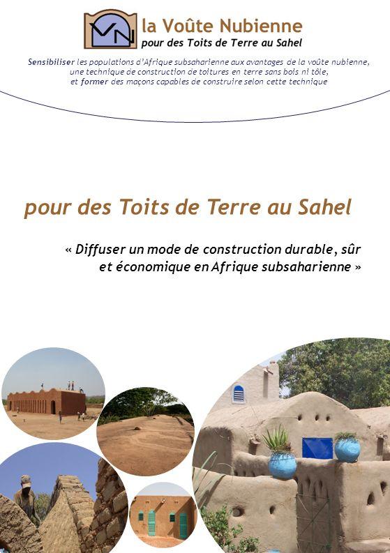 pour des Toits de Terre au Sahel