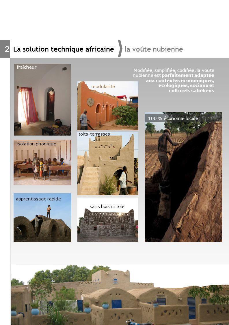 2 La solution technique africaine la voûte nubienne fraîcheur